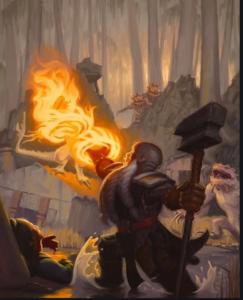 Sacred flame 5E spell